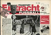 DFB-Pokal 86/87 Eintracht Frankfurt - Eintracht Braunschweig, 29.08.1986