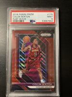 2018-19 Panini Prizm COLLIN SEXTON Rookie Card #170 RUBY WAVE MINT PSA 9 RC!!