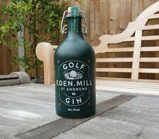 Empty Stoneware Golf Eden Mill Gin Bottle Pot 50cl