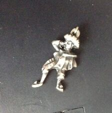 Madador STERLING VINTAGE 3D Spanish Bull Fighter charm pendant