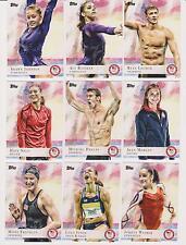 2012 TOPPS OLYMPICS COMPLETE SET  PHELPS ~ LOCHTE ~ RAISMAN ~ SOLO ~ ALEX MORGAN