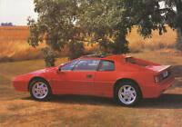 Lotus Esprit Prospekt GB 1991 brochure prospectus Autoprospekt prospetto catalog