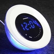 Sveglia grunding cambia colore display led touch rgb orologio funzione allarme
