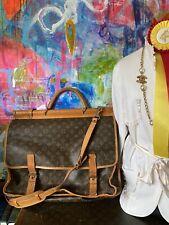 Vintage LOUIS VUITTON Sac Chasse Bag Luggage Tote Suitcase Keepall Designer LV