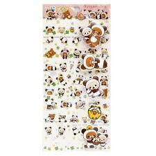 San-X Decorative Sticker Rilakkuma Transparent & Puffy Panda (Se27702) 14c