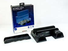 Konix Mythics Starship PS4 - COOLING AND CHARGING STAND 2fach - SCHWARZ