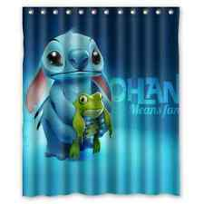 "Lilo and stitch ohana Custom Shower Curtain Bath Decor Curtain 60 "" x 72 """