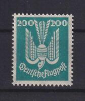 DR 349 Flugpost Holztaube 200 Pfennig postfrisch Kurzbefund einwandfrei (bt532)