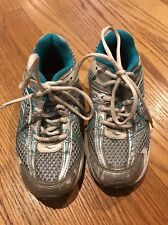 Saucony Triumph 7 Run Good Silver Running Walking Sneakers Boys Shoes Sz 13 #