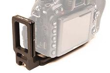 Nikon D750 L bracket for Arca Swiss Wimberley Foba Benro Acratech RRS Kaiser