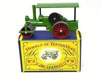 Matchbox Lesney Y11-1 1920 Aveling & Porter Steam Road Roller In Type 'C' Box