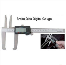 Digital Micrometer Disc Brake Gauge Rotor SAE Metric Hardened 0.0005 + Spare bat