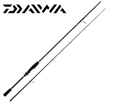 "Canna Daiwa Ninja 8"" 2.40mt 2sezioni 10-30g in Carbonio HM Anelli Sic"