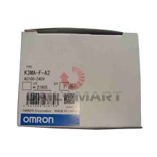New Omron K3MA-F-A2 Controller Rate Meter 100-240VAC 2 Relay Alarm Display Table