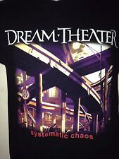 Dream Theater Chaos In Motion 2007-2008 Tour S T- Shirt Out Of Print Rock metal