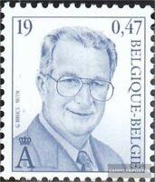 Belgien 2930 (kompl.Ausg.) postfrisch 2000 Albert