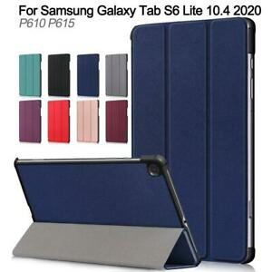 Magnetic Smart Book Stand Case Cover For Samsung Galaxy Tablet S6 Lite P610 2020