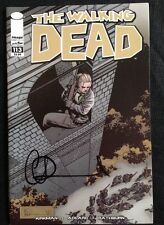 IMAGE COMICS THE WALKING DEAD #113 SIGNED BY CHARLIE ADLARD WITH COA