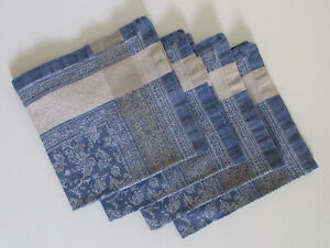 NWOT Williams-Sonoma Linen / Cotton Napkins 20 x 20 Set of 4 Made in Russia