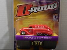 JADA D-RODS 1939 DODGE AIRFLOW TANKER IN RED LIMITED EDITION 1/64 SCALE DIECAST