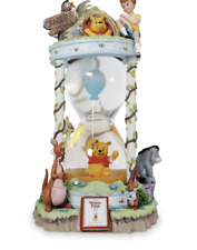 Disney Winnie the Pooh and the Honey Tree 55th Hourglass Snow Globe Limited New