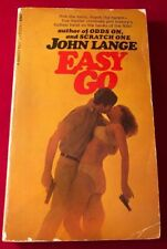 John LANGE, Michael CRICHTON / Easy Go PBO First Edition 1968