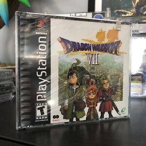 DRAGON WARRIOR VII Sony PlayStation 1 2001 New/Factory Sealed MINT/NM+