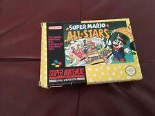SUPER MARIO ALLSTARS.  SNES SUPER NINTENDO GAME. BOXED WITH MANUAL.