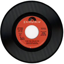"CREATIVE SOURCE  ""PASS THE FEELIN' ON  c/w TURN ON TO MUSIC""  70's MOVER LISTEN!"