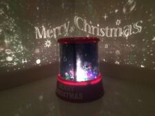 MERRY CHRISTMAS STAR MASTER PROJECTOR/COLOUR CHANGING/FATHER CHRISTMAS/LIGHTS