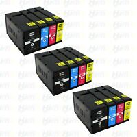 12PK PGI-1200XL High Yield Ink For Canon Maxify MB2020 MB2120 MB2320 MB2720