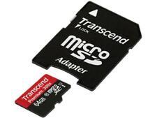 Transcend 64 GB MicroSD Extended Capacity (Micro SDXC) Flash Card