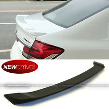 Fits 12-15 Honda Civic 4DR Sedan ABS Unpainted OE Style Black Trunk Wing Spoiler