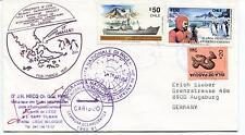 1991 Programma Nazionale di Ricerche in Antartide Polar Antarctic Cover SIGNED