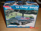 Monogram '59 Chevy Impala Hardtop 1/25 Plastic Model Kit #2454 photo