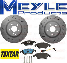 Quality Front Brake Kit PAD & ROTOR Mercedes E550 Coupe  Pagid Meyle