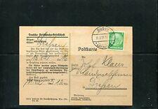 Benachrichtigungskarte der Reichsbahn 1933 ( 26001 )