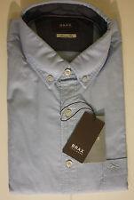 Unifarbene BRAX Herren-Freizeithemden & -Shirts mit Button-Down-Kragen