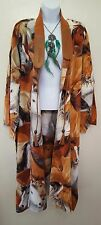 SOUTHWESTERN TRIBAL PONY PRINT FLEECE FESTIVAL MAXI MIDI COAT DRESS PARTY BRIDAL