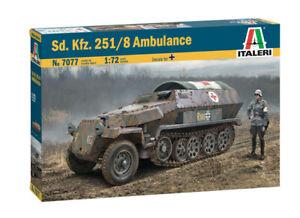 Sd.Kfz. 251/8 Ambulance Kit ITALERI 1:72 IT7077