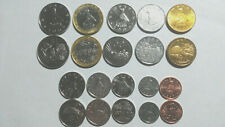 ZIMBABWE: 10 PIECE HIGH GRADE COIN SET, 1 CENT TO $25