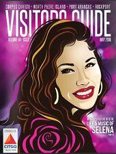 Rare Selena Quintanilla Cover Fiesta De La Flor Magazine 2016 + Bonus gift FDLF
