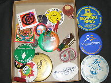 24 Pinbacks and other Pins/Buttons c37