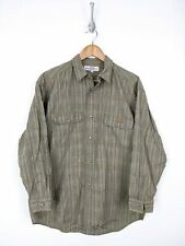 Vtg Mens Guess Native American Print Corduroy Shirt Mens Vintage 80s Clothing Georges Marciano  USA Made Long Sleeve