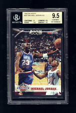 1993-94 Hoops #257 MICHAEL JORDAN All Star BGS 9.5 Gem Mint