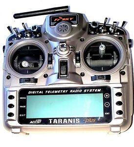 frsky taranis x9d plus Handsender, Mode 2, neuwertig, nur Software ausprobiert