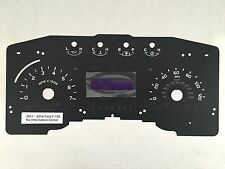 2011-2014 Ford F-150 XL,XLT 3.5L V6 5.0L V8 No Info Center MPH Speedo Faceplate