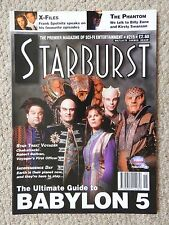 STARBURST FILM MAGAZINE 215 - X-FILES, THE PHANTOM, STAR TREK VOYAGER