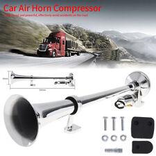 Universal 150DB Single Train Trumpet Car Air Horn Compressor Super Loud 12V/24V