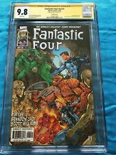 Fantastic Four v2 #1 variant - Marvel - CGC SS 9.8 NM/MT - Signed by Jim Lee
